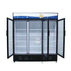 35cuft Supermarkt Glas Tür Flaschenkühler Beverege aufrechte Gefrierschrank