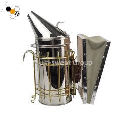 Beekeepingの蜂のはちの巣の喫煙者のステンレス鋼の手動蜂の煙