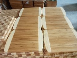 Bambusvorstand des ausschnitt-E0 und hölzerner hackender Vorstand und Käse-Vorstand vom Bambus