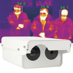 Imageur thermique à température de la sécurité de la température corporelle 0.1Seconds imageur thermique de détection de la reconnaissance de la fièvre Dm60-WS1 et de la caméra thermique fabricant