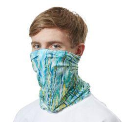 Auditoría de BSCI Skull Máscara multifuncional pañuelo elástico de cuello Seamless Tube Bandana