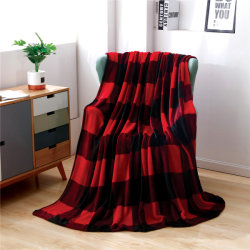 Vaste lichaam van de Vacht van het Flanel van de Polyester van 100% werpt het UltraPluche Afgedrukte Goedkope Deken