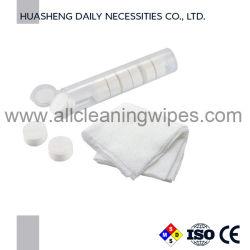 Для использования вне помещений одноразовые Продукты Переносные нетканого материала со сжатием полотенце монета ткани