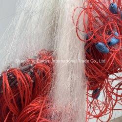 高品質0.3mmの純麻ひもナイロンポリエステル単繊維のKontの単一および二重ドリフトの漁網