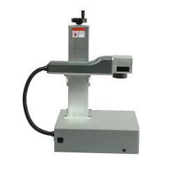 20W 30W 50W industrielle bewegliche Faser-Laser-Gravierfräsmaschine-Faser-Laser-Markierung für Metall/die Plastik-/Ersatzteile