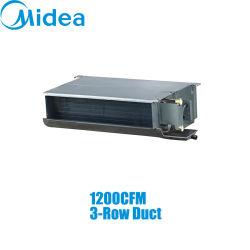 Mideaの3列ダクト220-240V/1pH/50Hz 1200cfmは分割を導管で送った