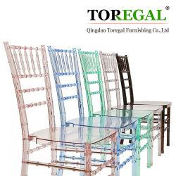 Boda de muebles de madera y resina silla Chiavari Alquiler para bodas