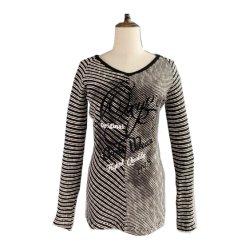Personalizar a camisola de algodão da mulher