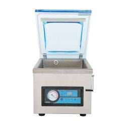 Hvc-260T/1Una máquina de sellado automático Hualian alimentos de la bolsa de arroz de pescado de carne vegetal de la fruta sola cámara Sellador de vacío