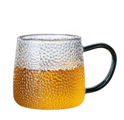 컬러 손잡이가 있는 컵 티 컵 세트