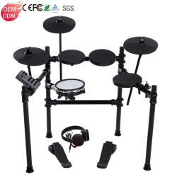 Instrumentos musicais electrónicos acústico do tambor de conjunto do tambor tambor eléctrico
