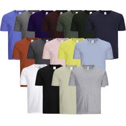 卸し売りカスタムスポーツの摩耗は人の白いティーワイシャツデザインが黒人男性のTシャツを所有するブランクTシャツの印刷の平野の方法デザインTシャツの100%年の綿を印刷した