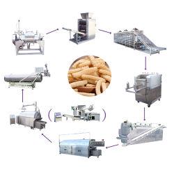 Système de cuisson vapeur Ligne de production de snack-Pellet de crevettes (crevettes Stick/Cracker)