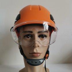 ABS oder HDPE materieller industrieller elektrischer schützender Sicherheits-Sturzhelm-Fahrrad-Sturzhelm-kletternder Sturzhelm-harter Hut-Garten-Sturzhelm mit Cer ANSI