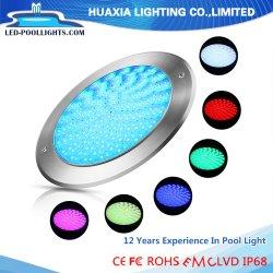 مصباح RGB IP68 LED تحت ضوء حوض السباحة تحت الماء