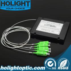 光ファイバー ABS ボックス 0.9 mm 1x4 SC APC PLC モジュール