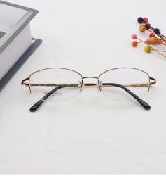 新しいデザインメモリ屈曲の低価格のチタニウムの光景フレームの金属のサングラス