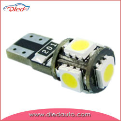 W5W 194 5*5050SMD T10 Canbus светодиодный индикатор автомобиля