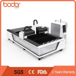 YAG الليزر 1000 واط من الفولاذ الكربوني / الفولاذ المقاوم للصدأ CNC المعادن سعر ماكينة القطع بالليزر