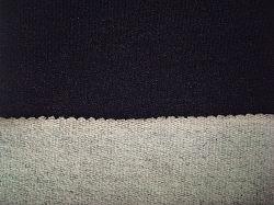 Terry Velo de algodão Jersey Denim