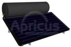 Réservoir d'émail de la plaque plat Apricus chauffe-eau solaire thermosiphon