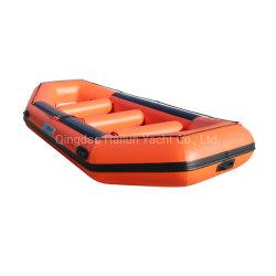Jangada inflável Ilha Flutuante Rafting Boat para a Pesca