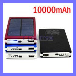 10000mAh banco de Energia Móvel Solar Portátil recarregável Carregador de Bateria solar para a Samsung Tab Apple (SL-1014)
