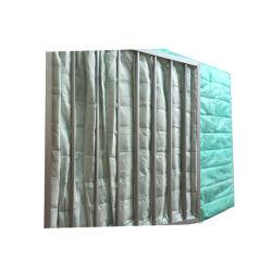 Saco de filtro de bolso de ar condicionado da mídia de fibra sintética do Filtro