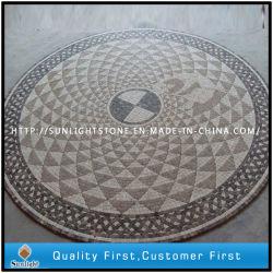 De natuurlijke Bevloering van het Medaillon van het Mozaïek van de Steen Marmeren voor de BinnenDecoratie van de Vloer
