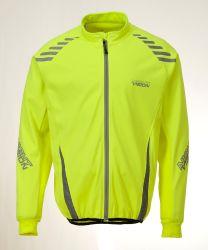 Veste de cyclisme avec bandes réfléchissantes pour les hommes