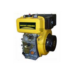 14 HP 14の馬力8000watt水平シャフトの風によって冷却されるディーゼルモーター芝刈機エンジン