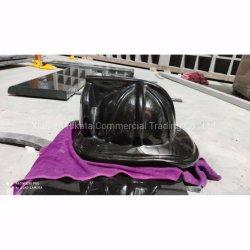Гранитный памятник Fire шлем скульптура