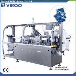 Entièrement automatique quatre côtés tissu humide de l'emballage (VPD250) de la machine