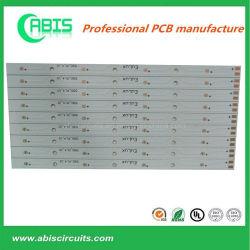 لوحة PCB بصيلة LED إلكترونية، تصميم لوحة PCB 94V0 LED، مادة AL/Pi، RoHS
