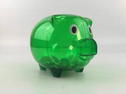 El Cerdo de promoción de la moneda de plástico barato claro el dinero de verificación