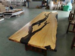 [كفّ تبل] إيبوكسي يملأ خشبيّة علويّة راتينج طاولة