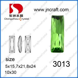 Dz-3013 Peridot éclairant Shine Élément Crystal desserrés