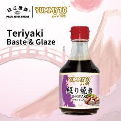 Molho Teriyaki (ALINHAVAR & vidrado) 200ml marca Yummyto estilo japonês molho barbecue