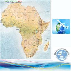 L'expédition de fret au Botswana, Comores, Congo, Djibouti, Égypte, Guinée équatoriale