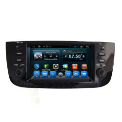 Alquiler de coche reproductor de DVD Central Multimedia para Fiat Linea