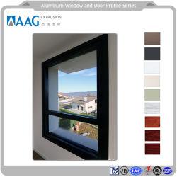 Bastidor de aluminio 6000 Visible muro cortina de aluminio y puertas y ventanas de aluminio