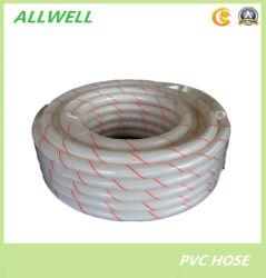 Boyau transparent clair flexible de pipe de douche d'approvisionnement en eau de PVC de plastique