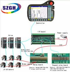 4~6 CNC van de as CNC van de Robot van de Tegenhanger van het Onderwijs van de Robot van het Systeem van de Controle van de Robot van het Lassen van het Controlemechanisme van de Motie Controlemechanisme