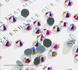 5Uma Qualidade Superior Hot Fix Rhinestone componente Crystal Preciosa Copiar Swar Rhinestone (IC-SS20 crystal ab 5 grau)