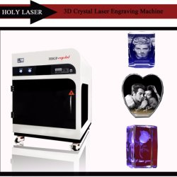 2017 горячая продажа Crystal Reports, 3D-станок для лазерной гравировки стекла Hsgp-4КБ