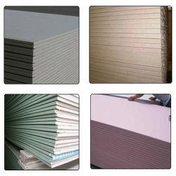 Plaques de plâtre 6.4-15mm