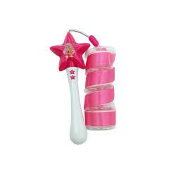SEDEX 4P 감사 OEM 프로모션 실내 및 실외 스타 댄스 리본 스틱 토이 다채로운 댄싱 완드 장난감 플라스틱 리본 장난감 여아용