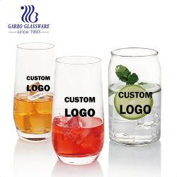 كوب زجاجي ملصق ويسكي للشرب من آلة زجاجية عالية الجودة أواني زجاجية بدون نبيذ GB083017