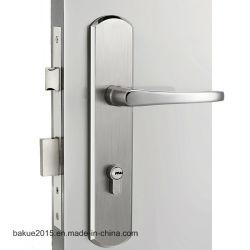 Grande plaque en acier inoxydable mortaise Serrure de porte pour l'entrée et de verrouillage de la vie privée