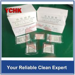 Tige remplaçable médicale de prélèvement d'approvisionnements de coton de tige orale dentaire de tampon